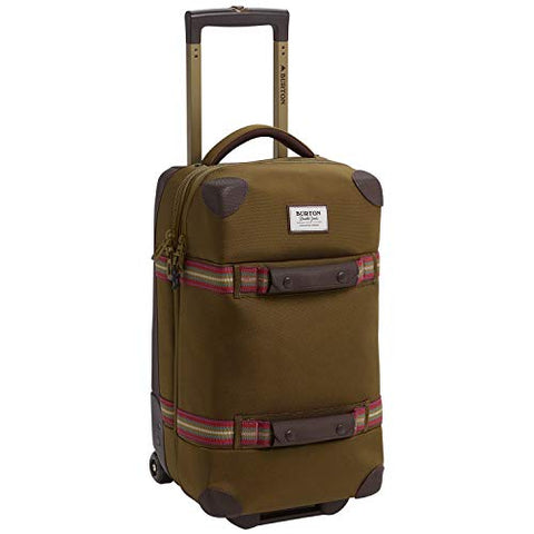 Burton Wheelie Flight Deck 40L Travel Bag, Hickory Ballistic
