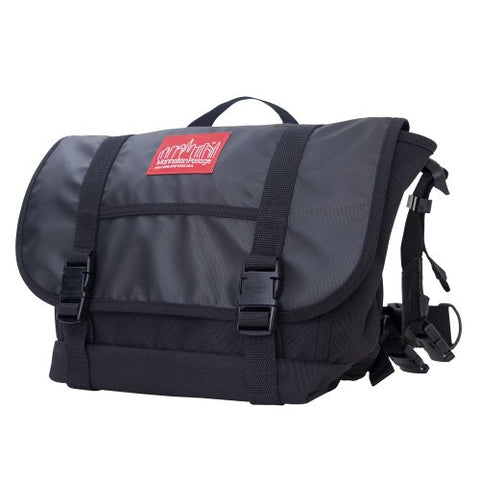 Manhattan Portage Ny Minute Messenger Bag, Black, Medium