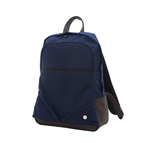 Token Bags Waxed Woodhaven Backpack, Navy, One Size