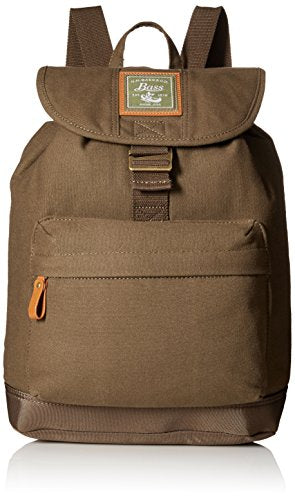 G.H. Bass & Co. Tamarack Tombstone Backpack, Khaki, One Size
