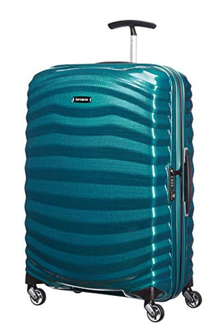 Samsonite Lite-Shock Suitcase 4 Wheel Spinner 69cm Petrol Blue