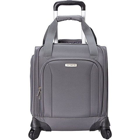 Samsonite Spinner Underseat with USB Port (Pewter)