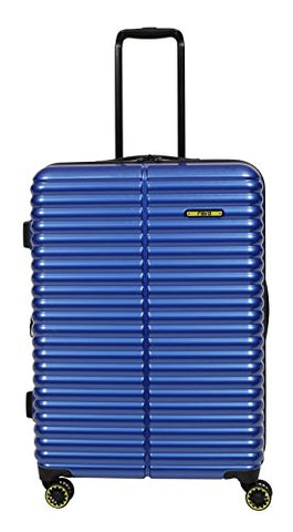 "Revo Pipeline Expandable Hardside Spinner, 25"", Chrome Blue"