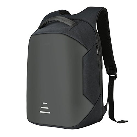 Samber Anti-Theft Students Backpack Rechargeable Business Backpack Usb Charging Travel Backpack Waterproof Outdoor Rucksack Laptop Backpack Daypack With Usb Charging Port (Black)