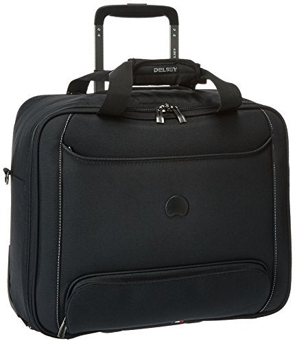Delsey Luggage Chatillon Trolley Tote, Black
