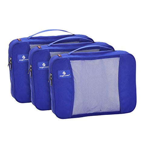 Eagle Creek Large Double Cube Set, 3-Pack (Blue Sea)