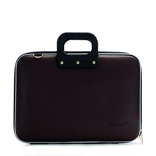 Bombata Classic Laptop Briefcase (One Size, Brown)