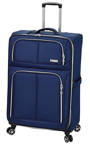"London Fog Northwood 28"" Expandable Spinner, Navy"