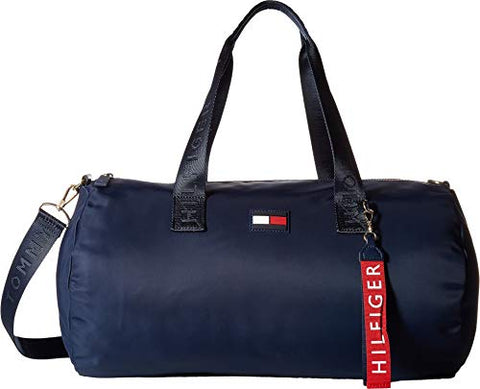 Tommy Hilfiger Women's Leah Duffel Tommy Navy One Size