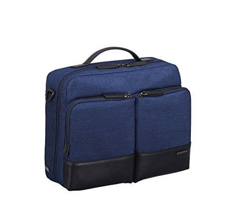 Zero Halliburton Lightweight Business Shoulder Bag in Navy
