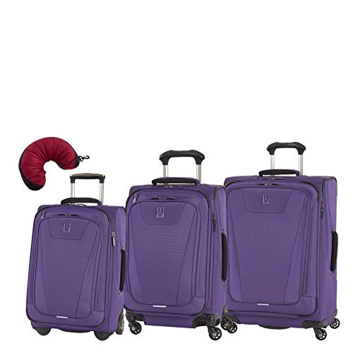 Travelpro Maxlite 4 | 4-Pc Set | 22-Inch Rollaboard, 21 And 25-Inch Expandable Spinner, Travel