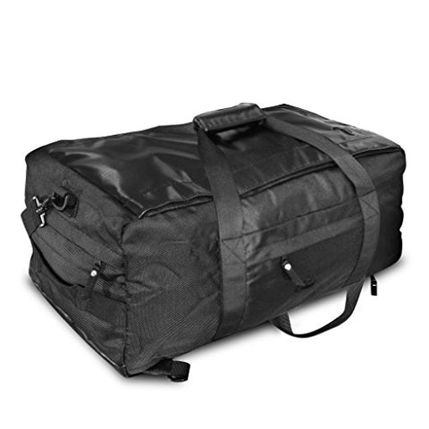 Vatra Skunk Hybrid Backpack/Duffle Black - Smell Proof - Water Proof