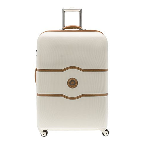 Delsey Chatelet Carry-on Spinner Trolley (28, Champagne)