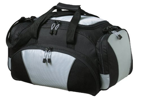 Port & Company Luggage-And-Bags Metro Duffel Osfa Light Grey