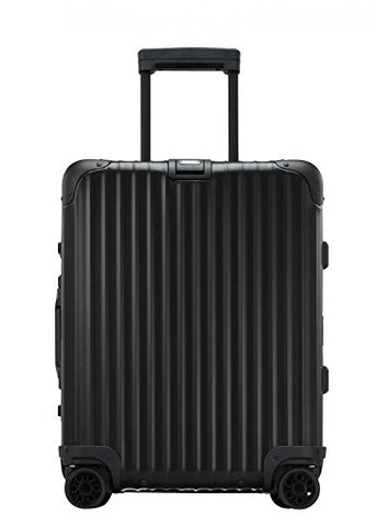 "RIMOWA Topas Stealth 21"" Inch Carry on Luggage Cabin Multiwheel IATA Suitcase Black"