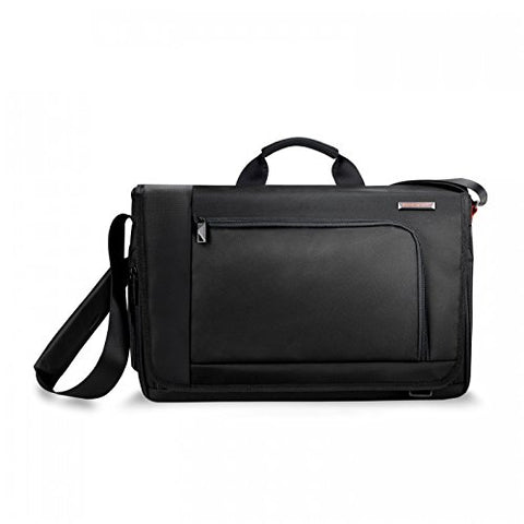 Briggs & Riley Dispatch Messenger, Black, One Size