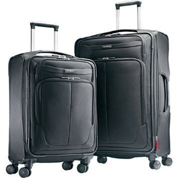 "Samsonite 2 Piece Luggage suitcase Set 27""check in and 21""carry-on Spinner 4 Wheel Light weight design"