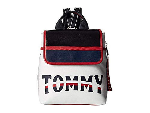 Tommy Hilfiger Women's Viola Backpack Off-White One Size