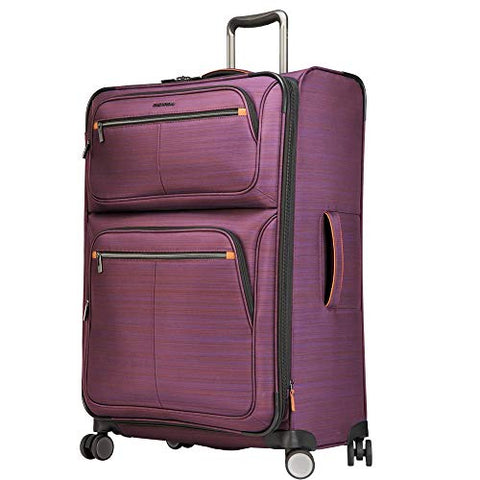 "Ricardo Montecito 29"" Soft Side Spinner Luggage Purple"
