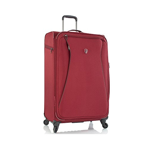 "Helix 26"" Spinner Suitcase Color: Red"