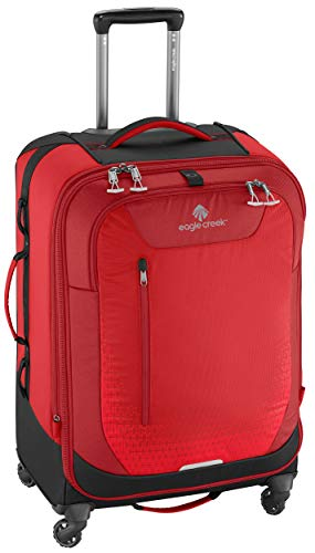 "Eagle Creek Expanse AWD 26"" 4 Wheel Spinner Luggage Volcano Red"