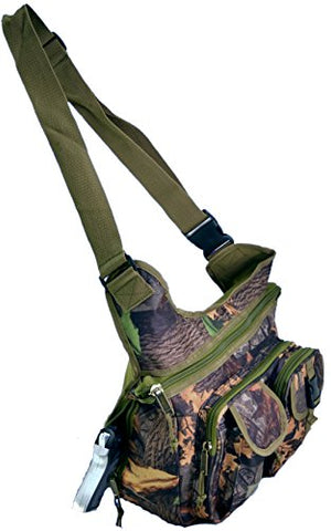 Explorer Wildland -Mossy Oak Realtree Like- Hunting Camo Multi-Functional Tactical Messenger Bag