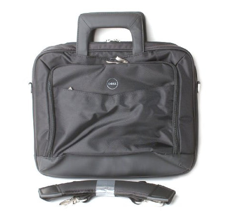 "Genuine Dell 74NVT 14"" inch Black Nylon Pro Business Work Laptop Notebook Carry-Case Bag Compatible"