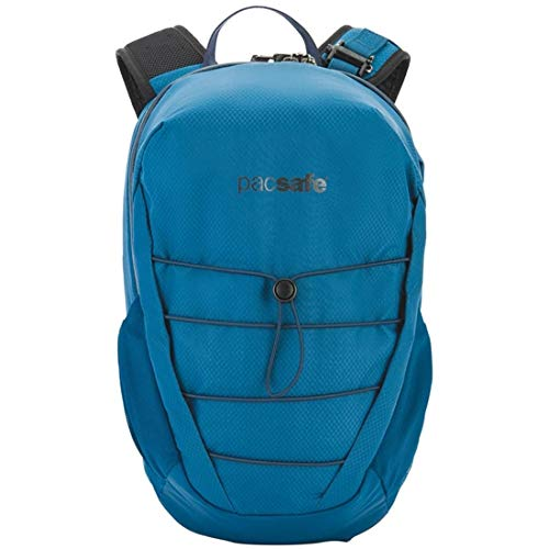 Pacsafe Unisex Venturesafe X12 Anti-Theft 12L Backpack Blue Steel One Size