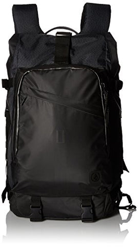 Volcom Men'S Mod Tech Waterproof Surf Backpack Bag, Black Combo, One Size