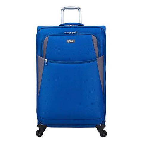 Skyway Encinitas 4-Wheel Spinner Upright, 28-Inch, Galaxy Blue