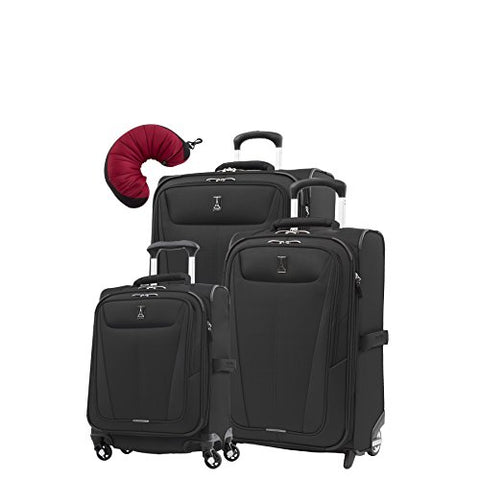 "Travelpro Maxlite 5 | 4-Pc Set | Int'L Carry-On Spinner, 22"" Carry-On & 26"" Exp. Rollaboard With"