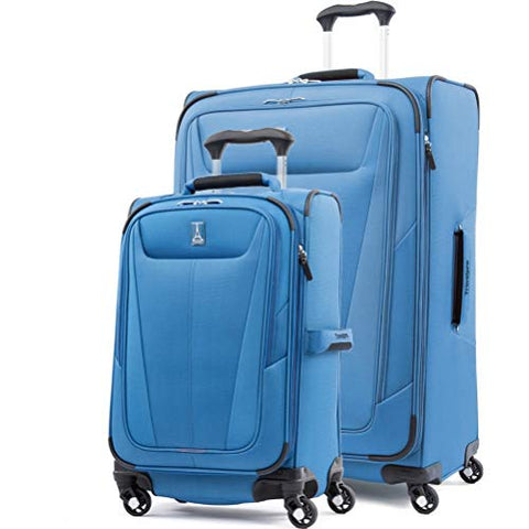 Travelpro Maxlite Set 5 Of 21 |29 Expandable Spinners (Azure Blue)
