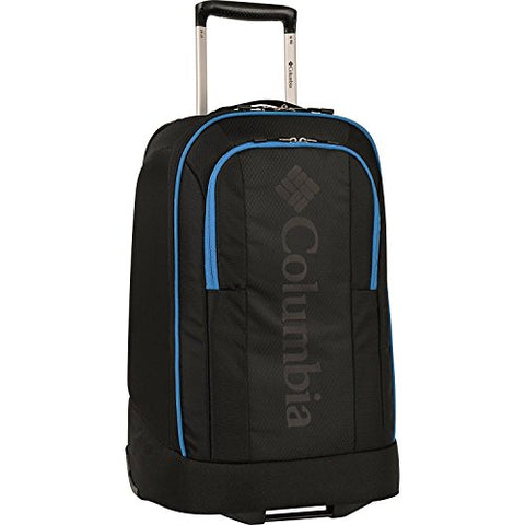 "Columbia Chillout 24"" Black Rolling Luggage Bag"
