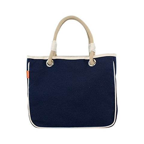 CB Station 6005 Rope Tote Bag Solid44; Navy