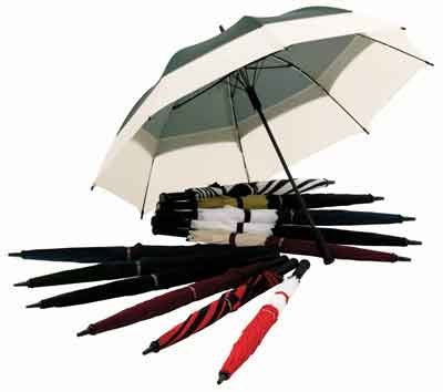 Windbrella Products Coro. 62-inch Golf Umbrella-Burgundy& Cream 10062BUCR