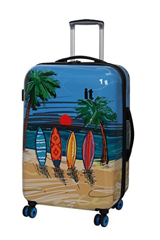 It Luggage Virtuoso 32-Inch Hardside Spinner (Sufboard Sketch Paint)
