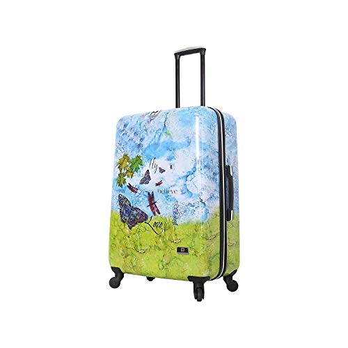 "HALINA Bee Sturgis Fly Dream 24"" Hard Side Spinner Luggage, Multicolor"