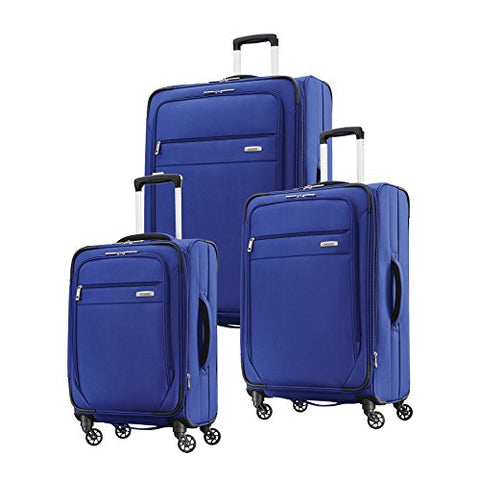 "Samsonite Advena 3-Piece Set (20"", 25"", 29"" Spinners) (Cobalt Blue)"