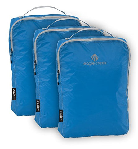 Eagle Creek Pack-it Specter Cube Set-3pc Set (Medium), Brilliant Blue