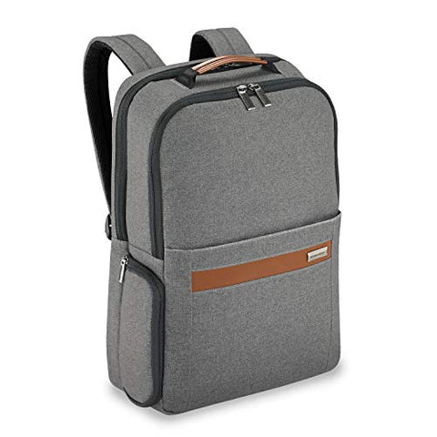 Briggs & Riley Kinzie Street Medium Backpack, Grey, One Size