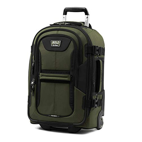 "Travelpro Bold 22"" Expandable Carry-On Rollaboard Luggage With Easy-Access Tablet Pocket,"