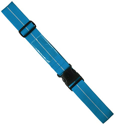 Eagle Creek Reflective Luggage Strap, Brilliant Blue