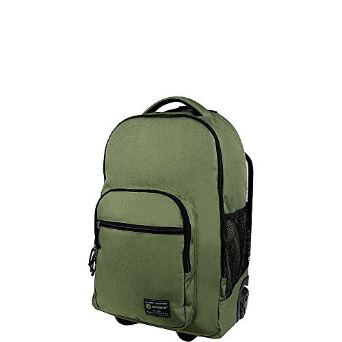 ecogear Dhole Laptop Rolling Backpack (Olive Green)