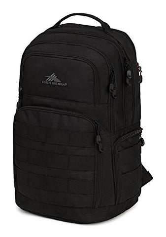 High Sierra Rownan Backpack, Black