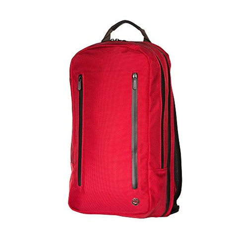 Token Bags Bay Ridge Backpack, Red, One Size