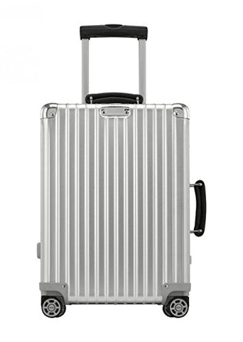 "Rimowa Classic Flight IATA Carry on Luggage 21"" Inch Cabin Multiwheel 33L TSA Suitcase Silver"