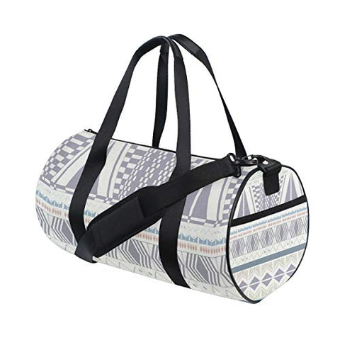 Duffel Bag Aztec Pattern Drawings Women Garment Gym Tote Bag Best Sports Bag for Boys