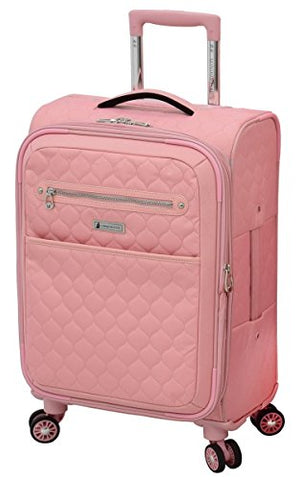 "London Fog Calypso 20"" Expandable Spinner, Pink"