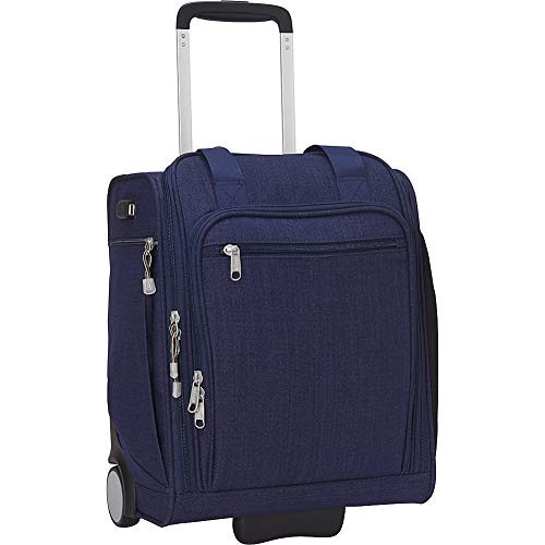 eBags Kalya Underseat Carry-on 2.0 with USB Port (Brushed Indigo)