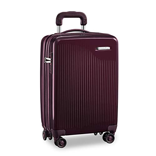 Briggs & Riley Sympatico International Carry-On Expandable Spinner, Plum